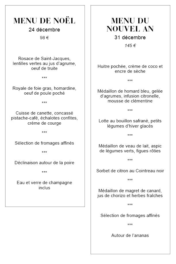 Menu De Noel Lotte.Quel Restaurant Choisir Pour Les Fetes De Noel A Bruxelles