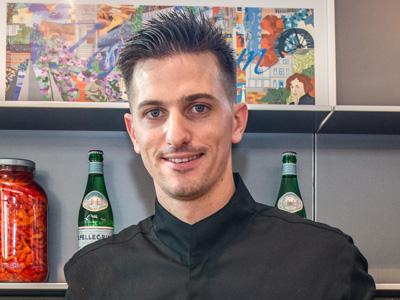 Alex Joseph élu meilleur jeune chef du Benelux